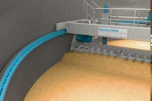 Circular high-performance kiln with fixed floor
